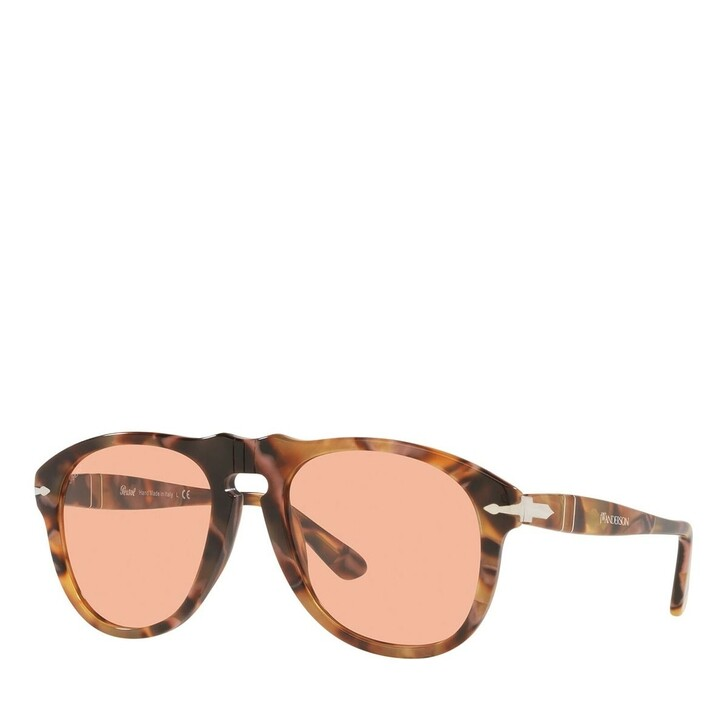 sunglasses, Persol, Sunnglasses Man 0PO0649 11454Q Dark Pink Spotted Recycled