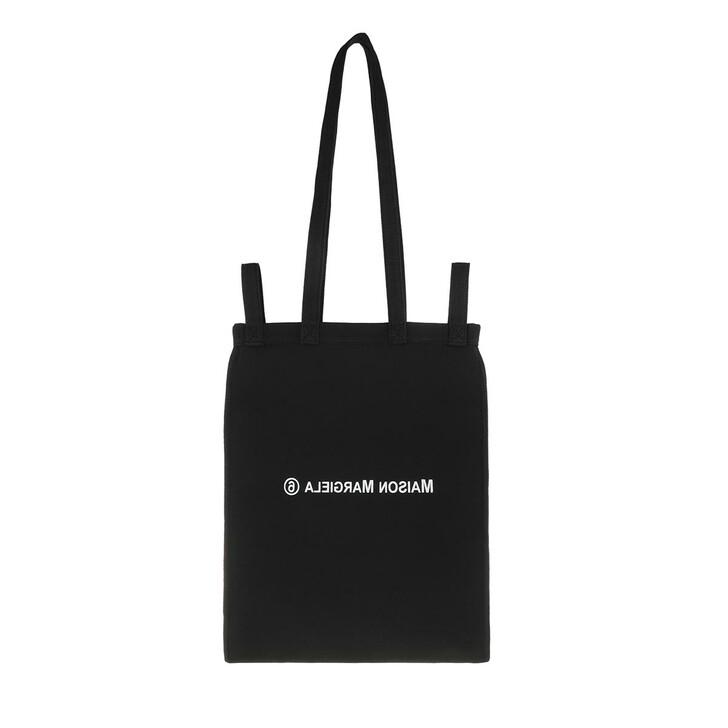 Handtasche, MM6 Maison Margiela, Berlin Small Shopping Bag Canvas Black