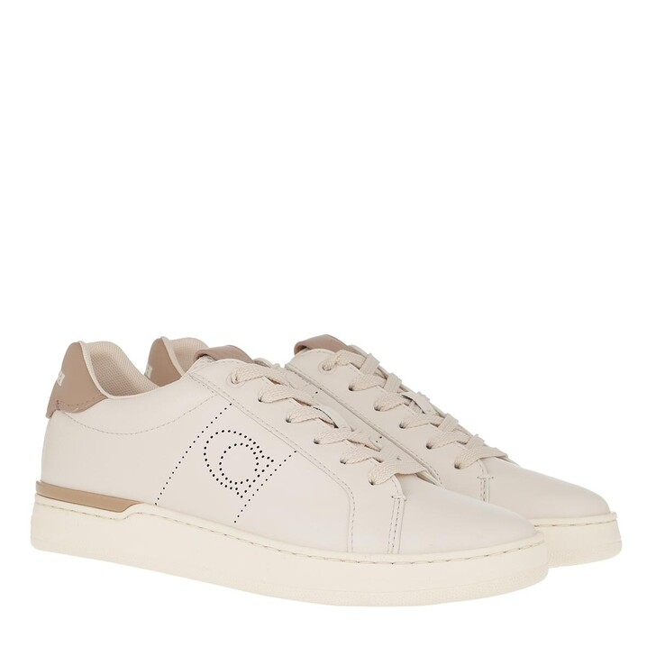 Schuh, Coach, Low Line Top Sneaker Chalk/Taupe