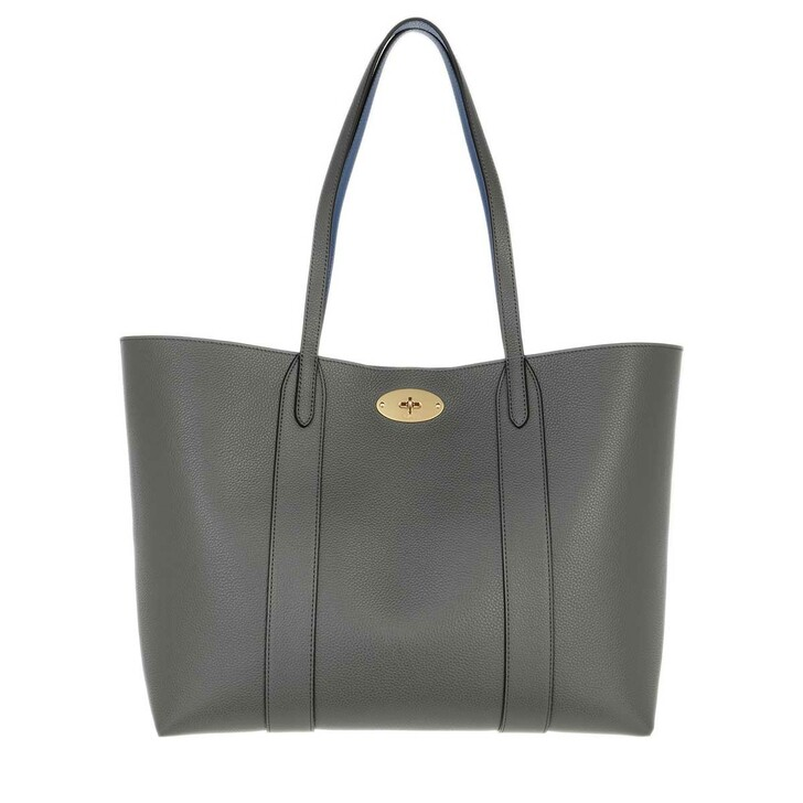 Handtasche, Mulberry, Bayswater Shopping Bag Leather Grey