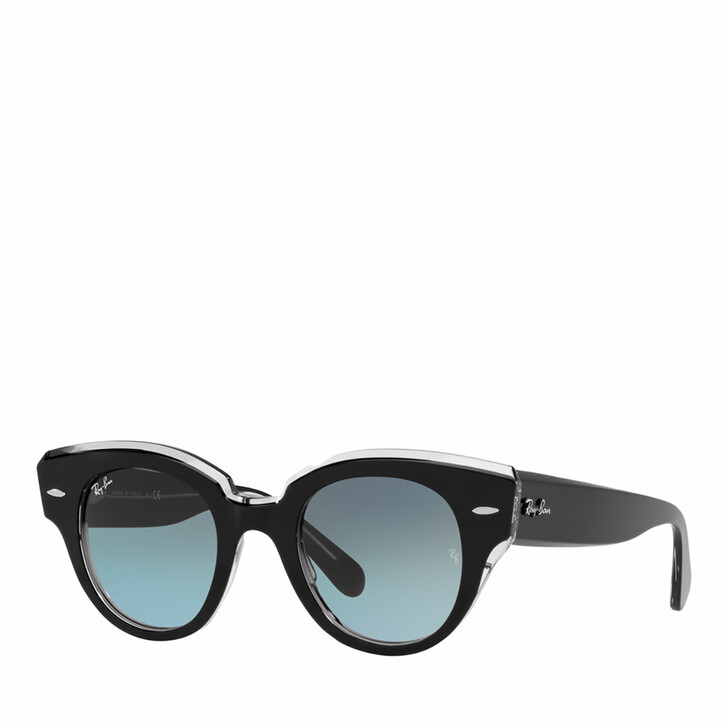Sonnenbrille, Ray-Ban, 0RB2192 BLACK ON TRANSPARENT