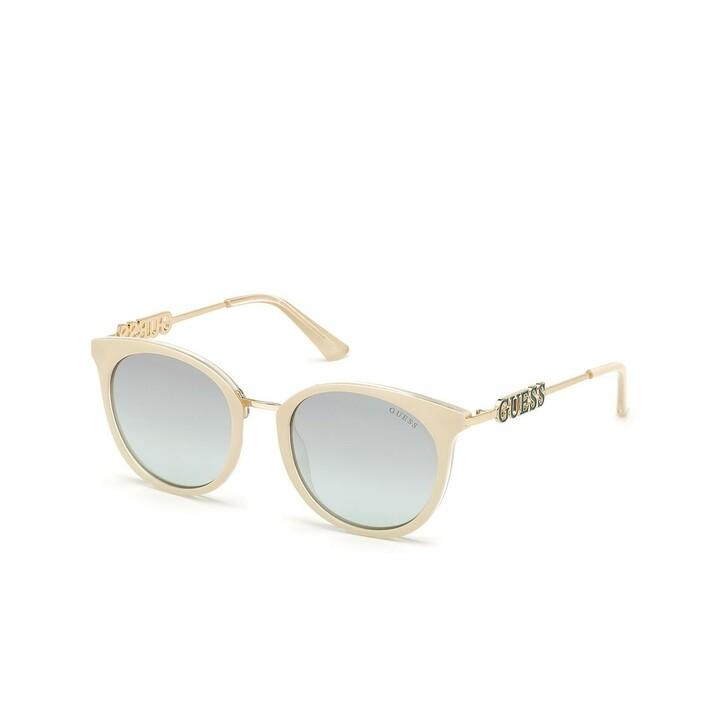 sunglasses, Guess, Women Sunglasses Injected GU7645 Beige/Green