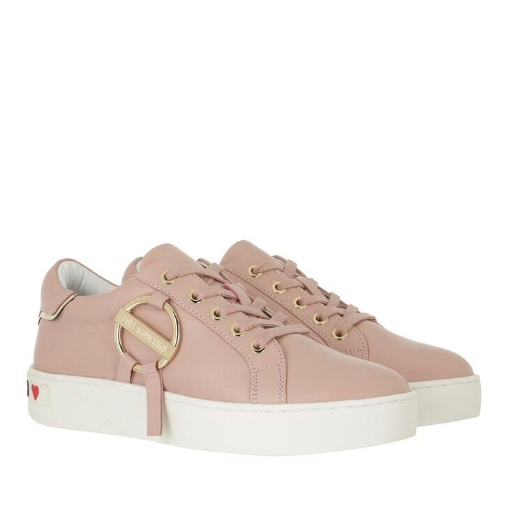 shoes, Love Moschino, Sneakerd Cassetta35 Vitello  Cipria