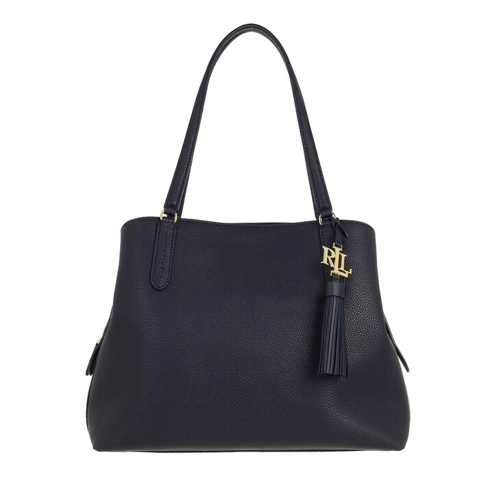 Handtasche, Lauren Ralph Lauren, Quinn 34 Shoulder Bag Large Lauren Navy