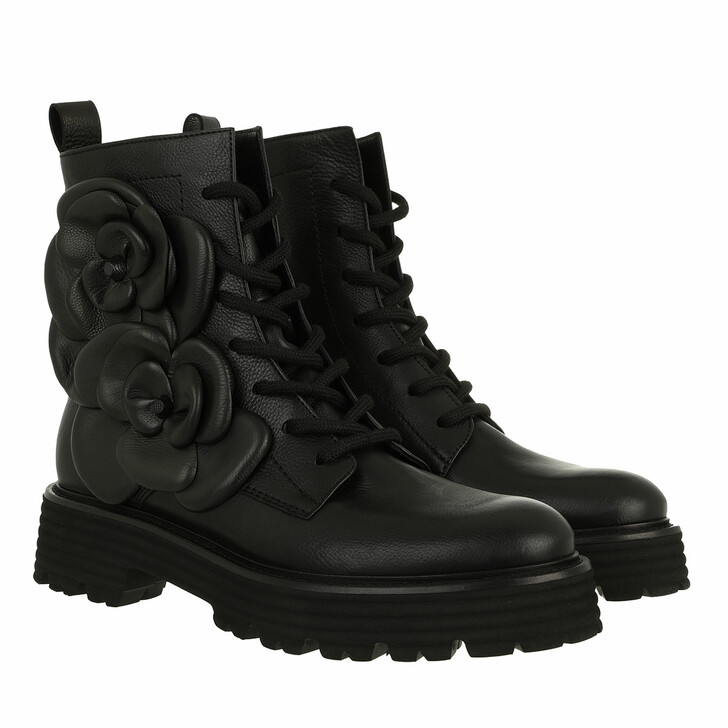 shoes, Kennel & Schmenger, Power Lace Up Booties Schwarz