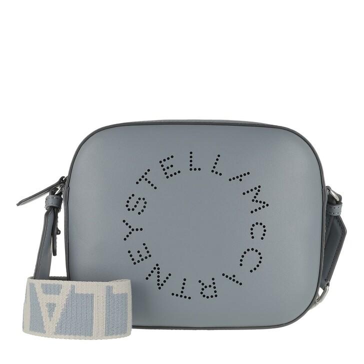 Handtasche, Stella McCartney, Mini Camera Bag Cameo Blu
