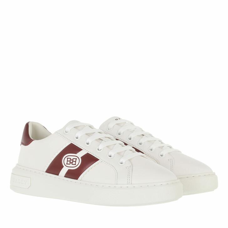 shoes, Bally, Sneaker Mikki White/Heritage