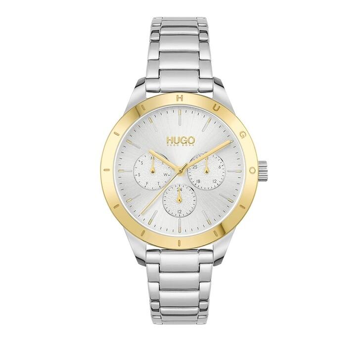 Uhr, Hugo, multifunctional watch Silver