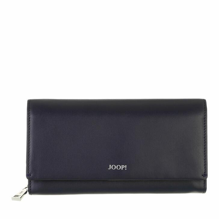 wallets, JOOP!, Sofisticato Europa Purse Lh11F Nightblue