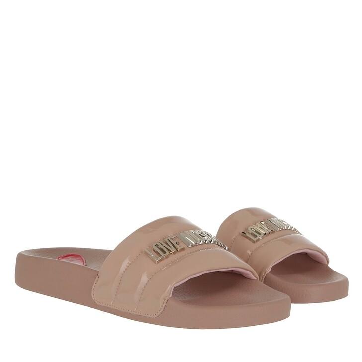 Schuh, Love Moschino, Sabotd Pool25 Vernice Pu  Cipria
