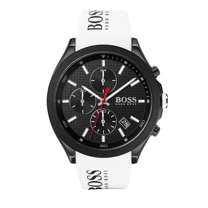 Uhr, Boss, Chronograph Men Velocity 1513718 White