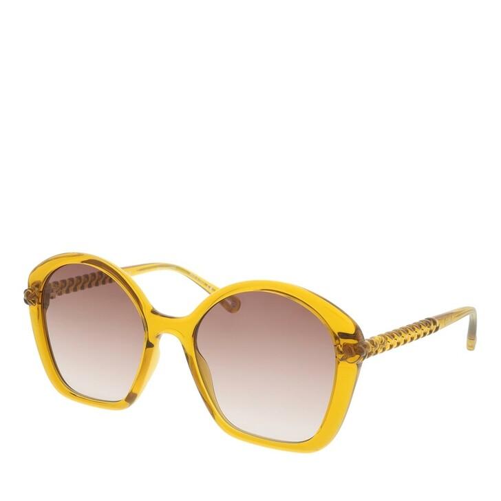 Sonnenbrille, Chloé, Sunglass WOMAN BIO INJECT ORANGE-ORANGE-BROWN