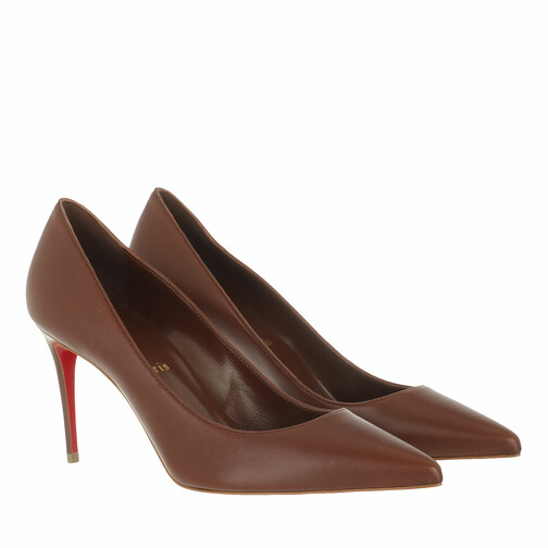 christian louboutin -  Pumps & High Heels - Kate 85 Pumps Nappa - in rot - für Damen