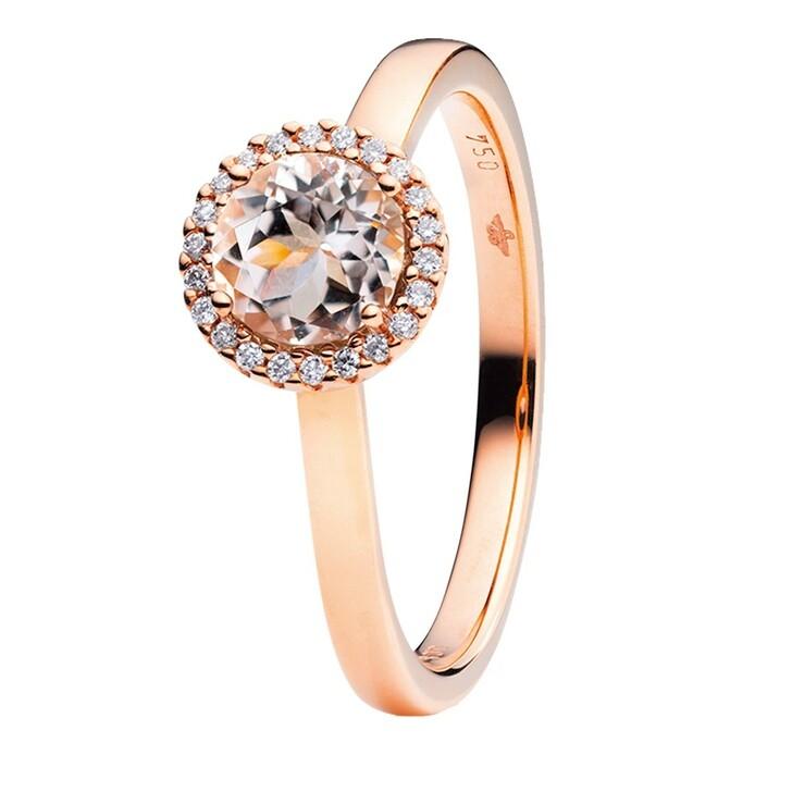 Ring, Capolavoro, Ring Espressivo Morganite Faceted Rosegold