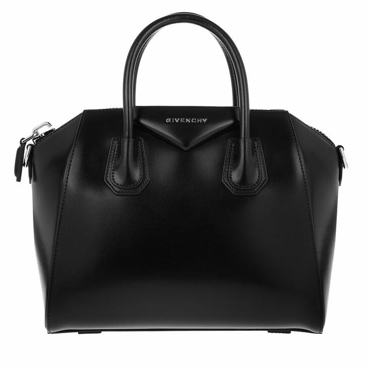 Handtasche, Givenchy, Antigona Small Tote Shiny Black