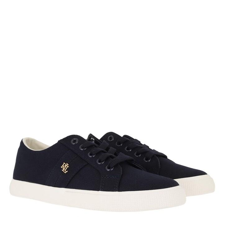 shoes, Lauren Ralph Lauren, Janson II Canvas Vulc Sneakers Lauren Navy