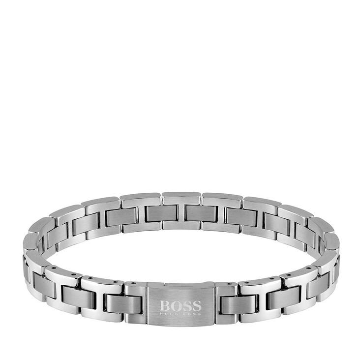 bracelets, Boss, Men Urbanite Bracelet Silver