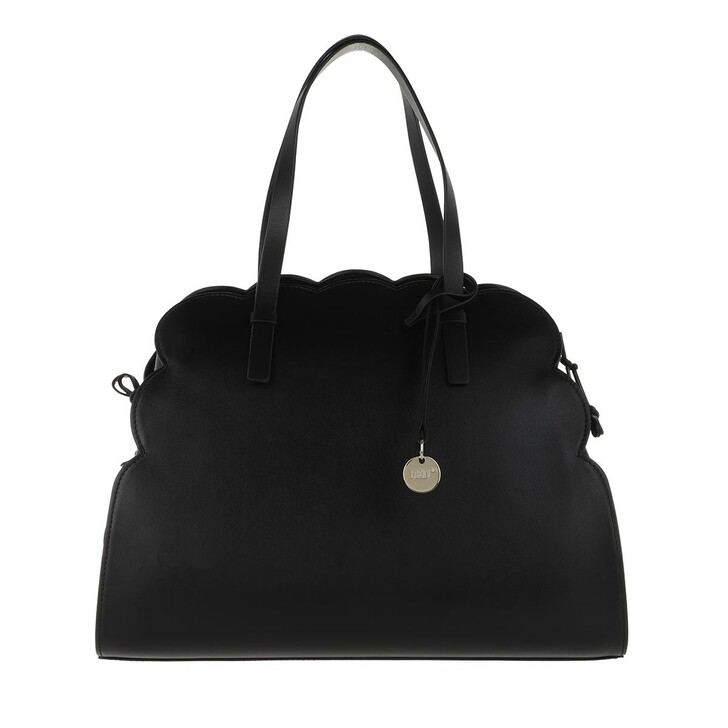 Handtasche, Red Valentino, Double Handle Bag Black