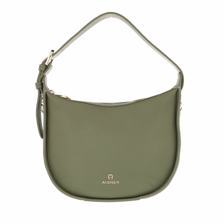 Handtasche, AIGNER, Ivy Handle Bag Moss Green