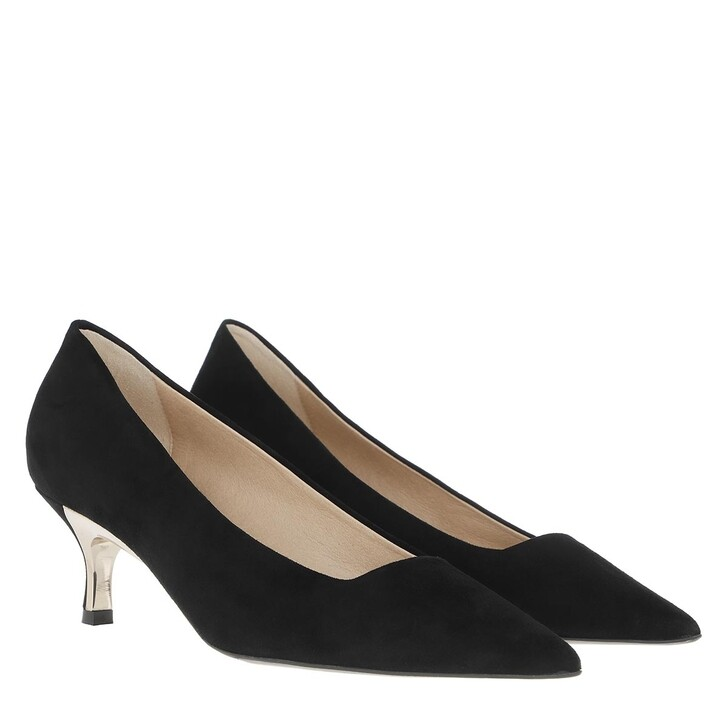 shoes, Furla, Code Decollete Pumps Nero