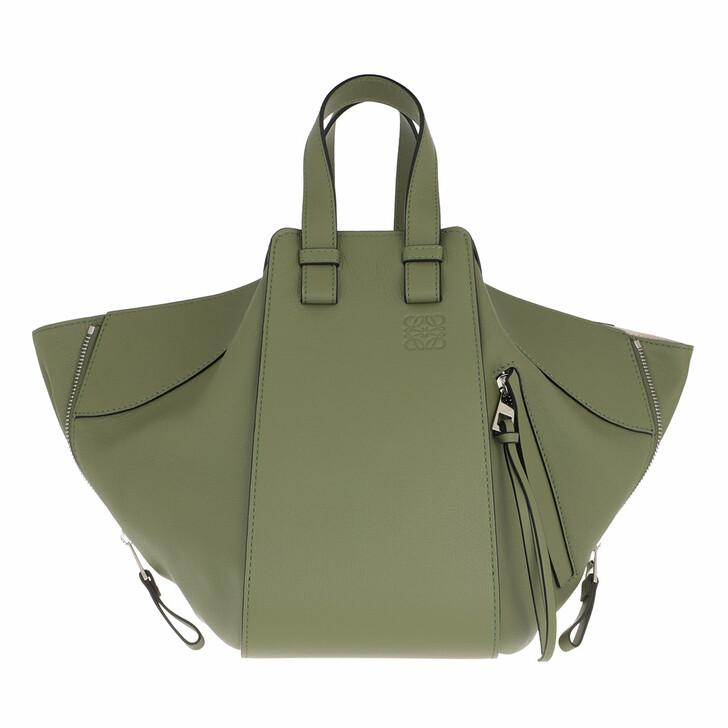 bags, Loewe, Hammock Small Bag Avocado Green