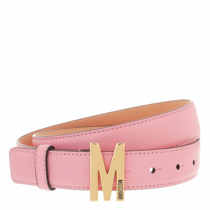 belts, Moschino, Belt Rosa
