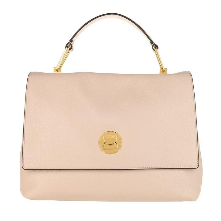 bags, Coccinelle, Handbag Grainy Lea Powder Pink