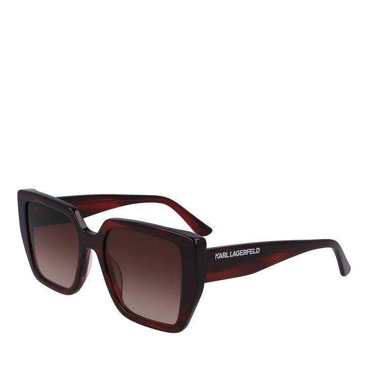 Sonnenbrille, Karl Lagerfeld, KL6036S STRIPED BURGUNDY