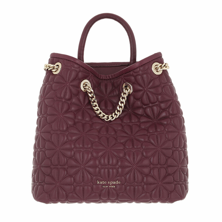 bags, Kate Spade New York, Bloom Quilted Medium Backpack   Grenache