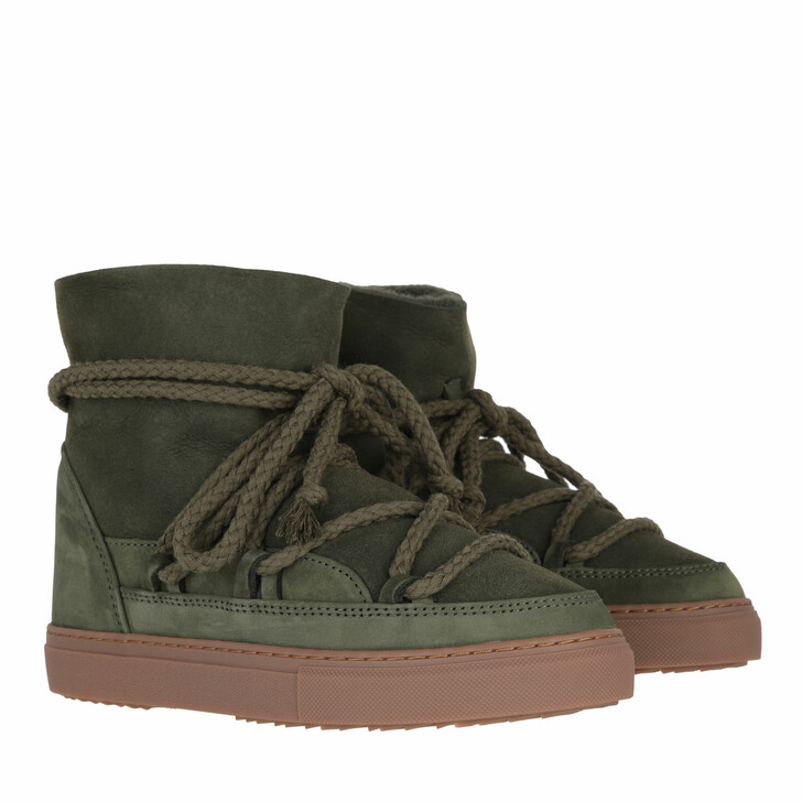 shoes, INUIKII, Classic Nabuk  Green