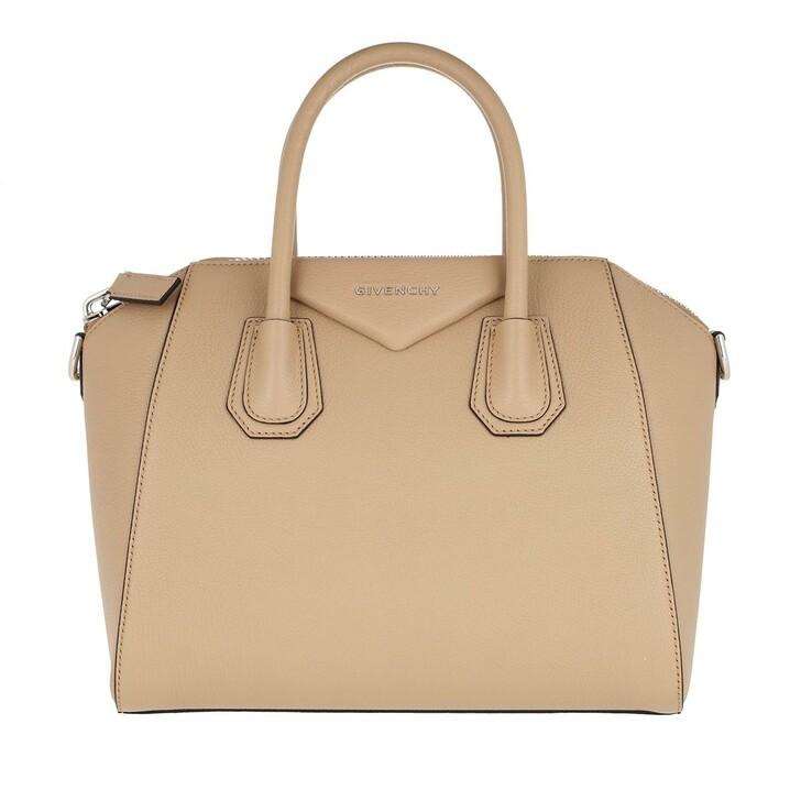 Handtasche, Givenchy, Antigona Small Bag Beige Camel