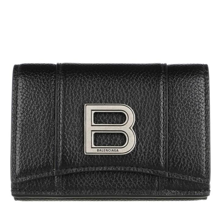 Geldbörse, Balenciaga, Wallet Black