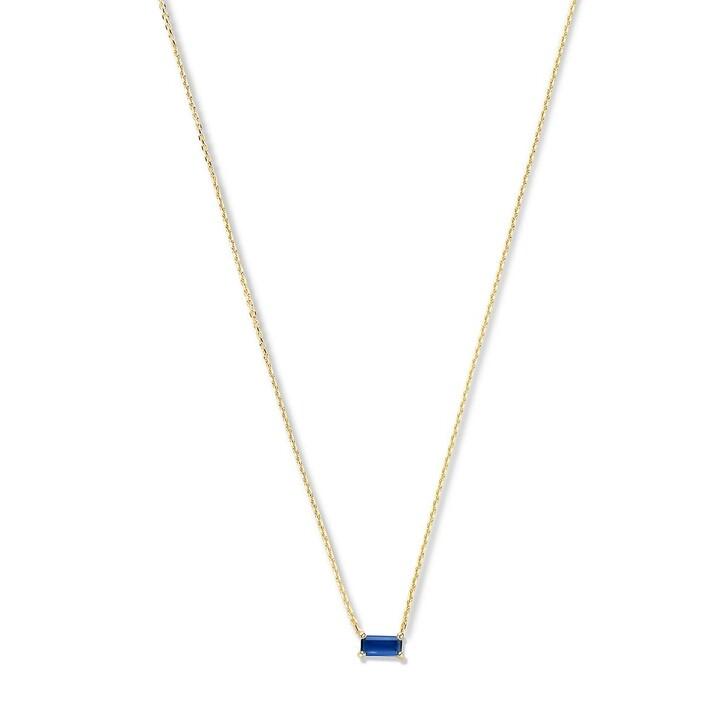 necklaces, Isabel Bernard, Baguette Nanon 14 Karat Necklace Gold