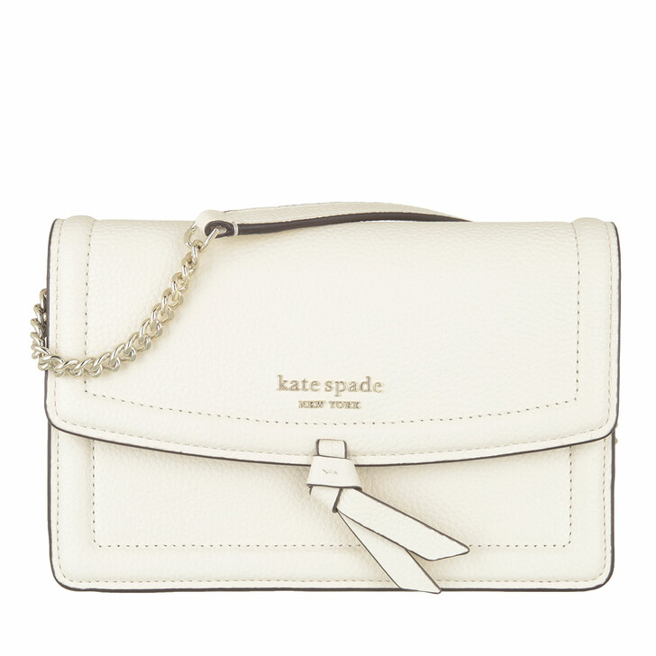 bags, Kate Spade New York, Flap Xbody  Parchment
