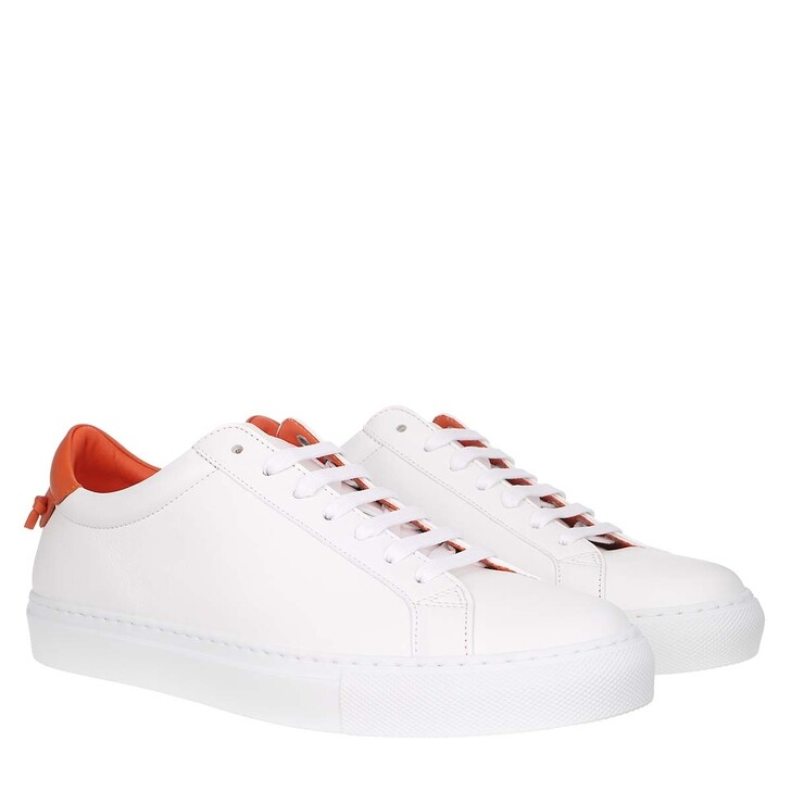 shoes, Givenchy, Urban Street Sneaker White/Tangerine