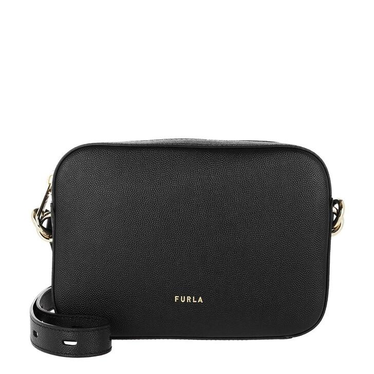 Handtasche, Furla, Block Mini Crossbody Nero