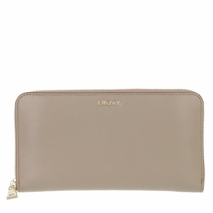 wallets, DKNY, Bryant New Zip Aroun Toffee