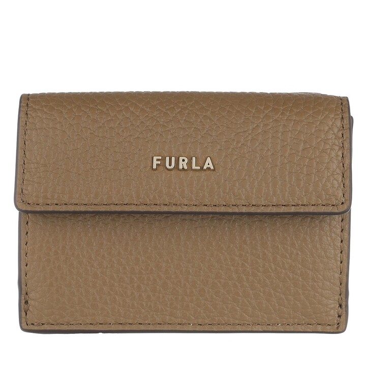 wallets, Furla, Furla Babylon S Compact Wallet Fango