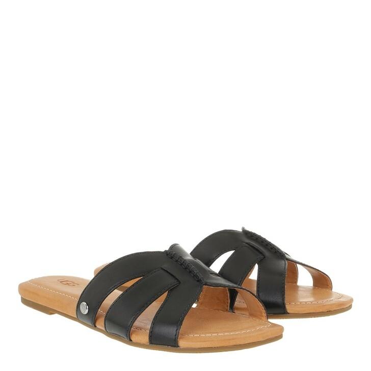 Schuh, UGG, Teague Sandal Leather Black