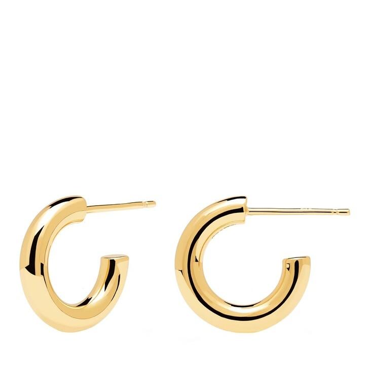 earrings, PDPAOLA, Earrings Mini Cloud Yellow Gold