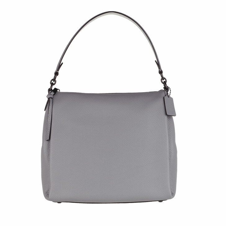 Handtasche, Coach, Soft Pebble Leather Shay Crossbody Granite