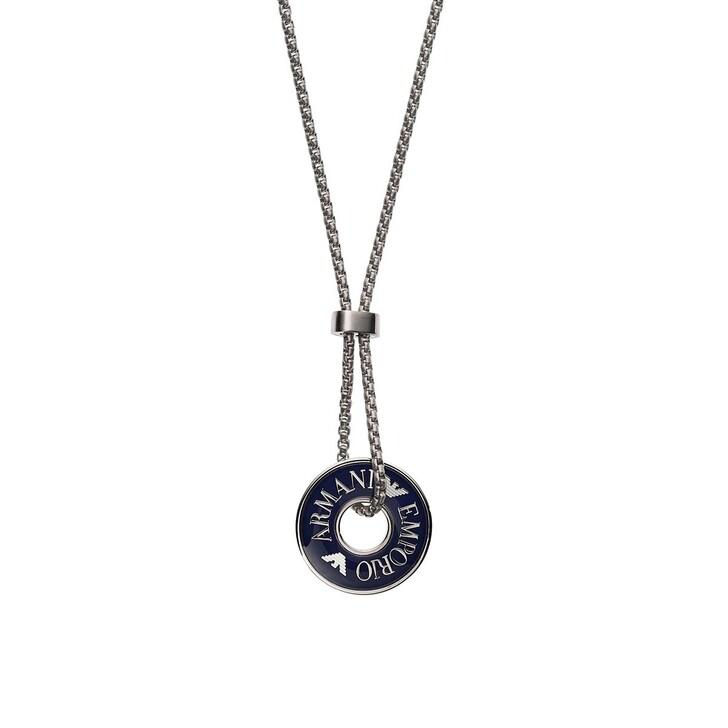Kette, Emporio Armani, Men's Stainless Steel Pendant Necklace Roségold