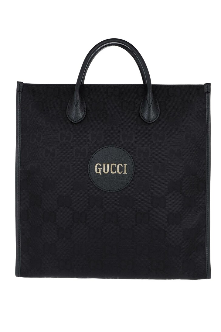 Handtasche, Gucci, Off The Grid Large Shopper Leather Black
