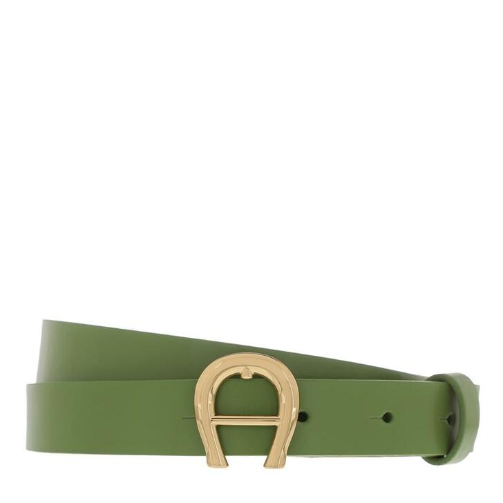 Gürtel, AIGNER, Belt Matcha Green