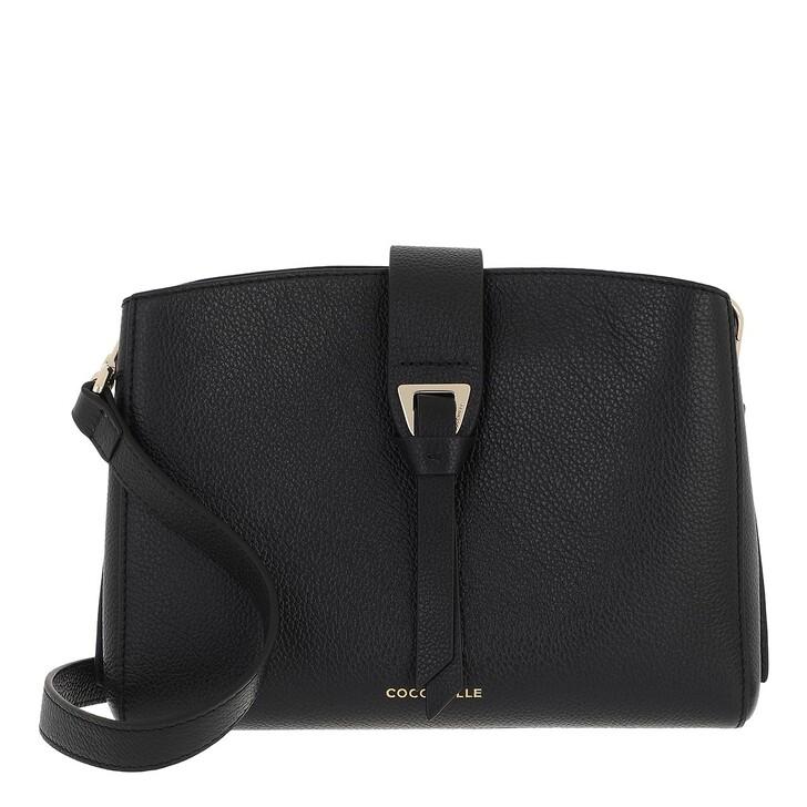bags, Coccinelle, Alba Handbag Bottalatino Leather Noir