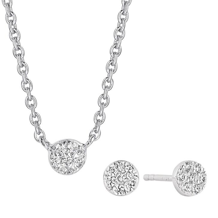 Kette, Sif Jakobs Jewellery, Cecina Set Silver