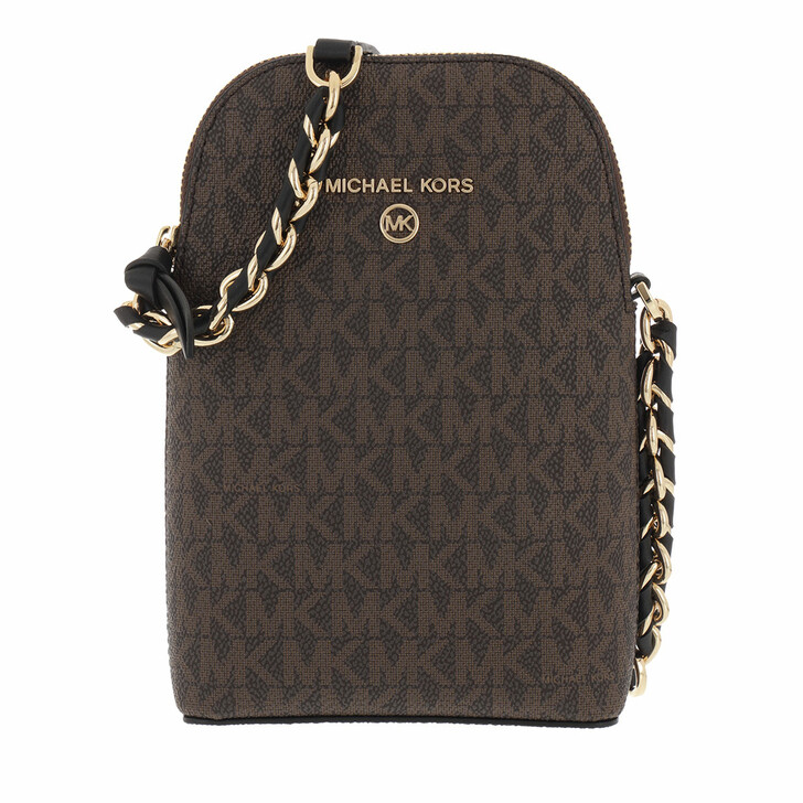 smart_cases, MICHAEL Michael Kors, Small Ns Chain Phone Xbody Brown/Black