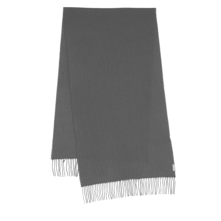 Schal, FRAAS, Cashmere Scarf Mid Grey