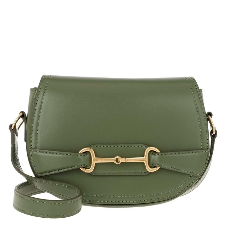 Handtasche, Celine, Crécy Bag Small Leather Light Khaki
