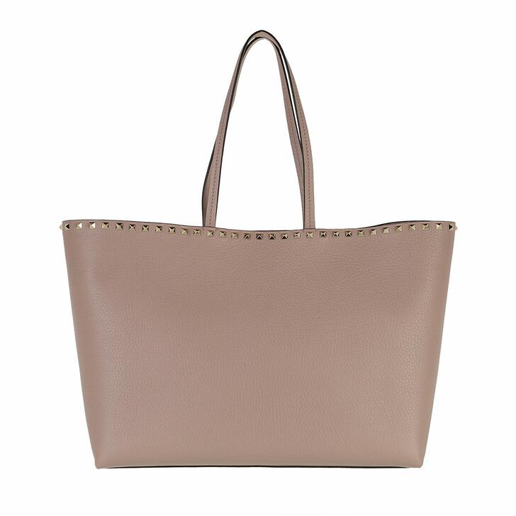 bags, Valentino Garavani, Rockstud Studded Shopping Bag Leather